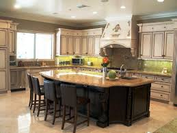 built in kitchen islands with seating great custom kitchen islands ideas