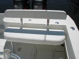 Rear Bench Seat For Boat Wtb Fold Down Rear Seat And Coaming Bolsters For Contender 23