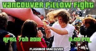 Pillow Fight Meme - vancouver pillow fight district local