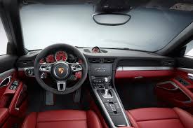 pink porsche interior porsche exclusive shows options for new 991 mkii