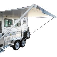 Caravan Retractable Awnings Roll Out Caravan Rv Window Awning In Grey 3 5x2 5m Buy Caravan