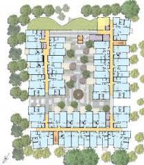 Apartment Building Floor Plans by David Baker Architects Tassafaronga Village