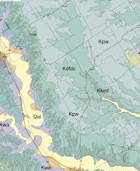 Waco Map Geology Of Mclennan County Texas