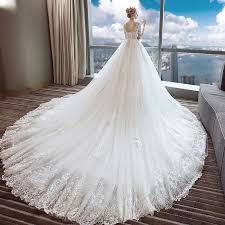 backless wedding dress lace a line sleeves backless wedding dress with g314