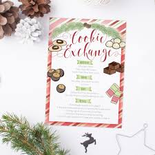 new home party invitations cookie exchange party invitation cu rio