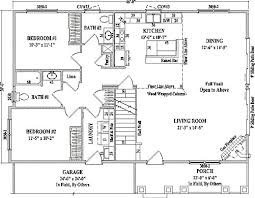 vaulted ceiling house plans by wardcraft homes two story floorplan