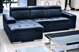 Navy Blue Leather Sectional Sofa Light Blue Leather Sectional Sofa Processcodi
