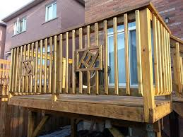 deck railing ideas wood for house kimberly porch and garden
