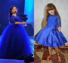 royal blue detachable skirt pageant dresses for toddler half