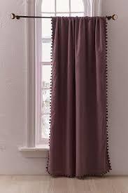 Curtains With Pom Poms Decor Blackout Pompom Curtain Pom Pom Decor Popsugar Photo 9
