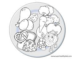 nutrition for kids food groups color pages google search coloring