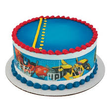 transformers cake toppers transformers cake strips edible cake topper