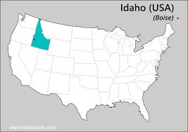 Oregon Idaho Map by Idaho Time Time Now In Idaho Usa