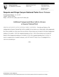 2013 news release archives sequoia u0026 kings canyon national parks