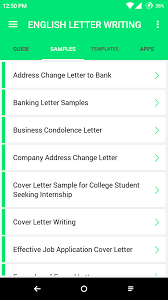 english letter writing android apps on google play