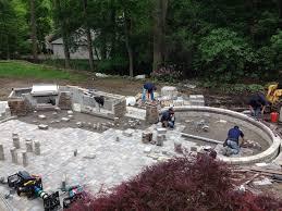Cost Of Brick Paver Patio by Brick Pavers Vs Concrete Trim Cut Landscaping