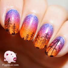 piggieluv high voltage power lines nail art