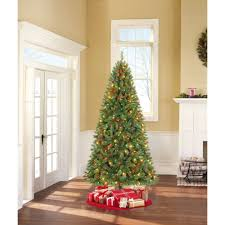 aleko ct78h250mc pre lit artificial pine tree 6 5