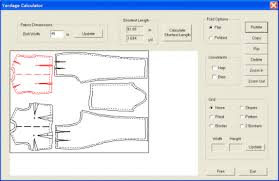 pattern layout on fabric dress shop sewing software automatically drafts custom fitted