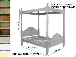 Super King Bed Size 4ft 6