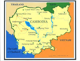 Direction Map Map Of Cambodia Heifer 12 X 12