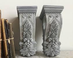 Corbels For Shelves Vintage Corbels Etsy