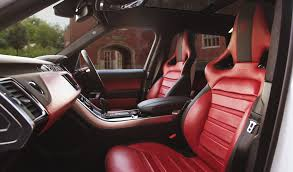 White Range Rover With Red Interior Land Rover Range Rover Sport 2014 Onwards 1 Interiors