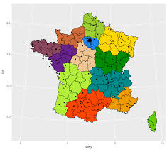 latitude map shapefile plot points by longitude and latitude on a map created