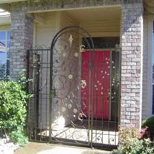 ornamental iron security doors homes design