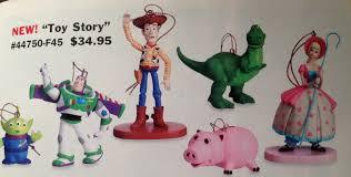 story storybook ornaments disney catalog buzz