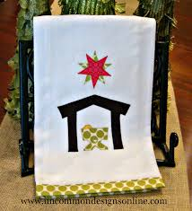 the perfect gift a trio of nativity towels towels love this