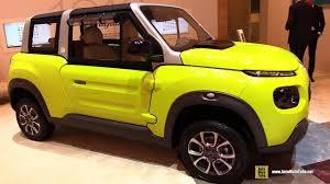 citroen mehari electric 2017 citroen e mehari electric vehicle exterior and interior