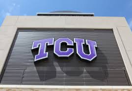 what color are guide signs tcu gameday home