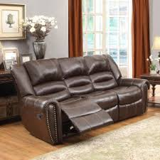 furniture excellent reclining loveseat with center console for