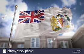 German British Flag British Antarctic Territory Flag Stock Photos U0026 British Antarctic