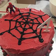 a spiderman party for a boy who is four calm to conniption