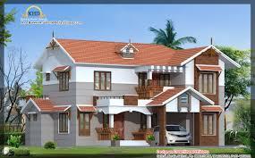 villa elevation 2151 sq ft kerala home design and floor plans