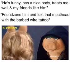 I Love My Man Memes - friendzone evil miss piggy evil kermit know your meme