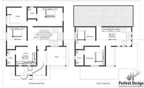 ground floor first floor home plan kerala home design plans floor plans house plans new ltd kerala