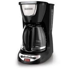 Coffee Pot black decker 12 cup programmable coffee maker dcm100b the home depot