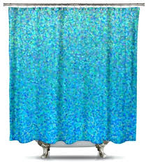 Teal Colored Shower Curtains Teal Shower Curtains Teawing Co