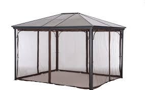 pergola 10 12 outdoor backyard regency patio canopy gazebo tent