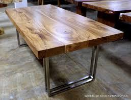 Modern Wood Dining Room Table Wood Modern Organic Furniture Best 25 Wood Table Ideas On