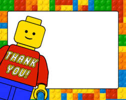 lego thank you card etsy