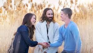 viral post shows white jesus crashing mormon couple u0027s engagement