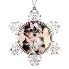 humories yorkie tree branch decoration dogs