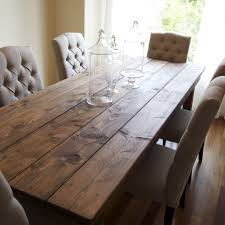 creative solid wood dining room tables with tufted parsons dining