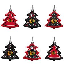 chicago blackhawks six pack shatterproof tree ornament set shop