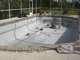 e u0026 m pool plastering inc the process