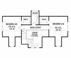 house plans with balcony lakeside 5353 4 bedrooms and 3 5 baths the house designers